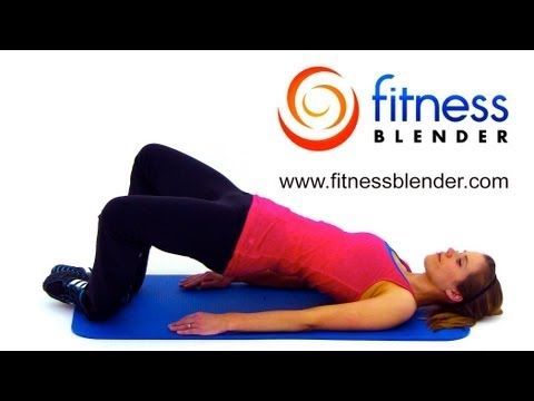 A full 38 Minute Workout video for Glutes, Inner, & Outer Thighs. You WILL be sore tomorrow!