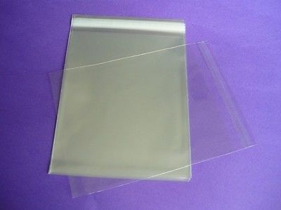 Other Scrapbooking Supplies 75573: 1000 5 X 7 Clear Resealable Cello Bag Plastic Envelopes Cellophane Bags Sleeves -> BUY IT NOW ONLY: $48 on eBay!