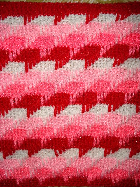 How To Crochet Apache Tears Pattern For Blanket : Apache Tears Stitch (Pattern Link) Too Legit to Knit ...