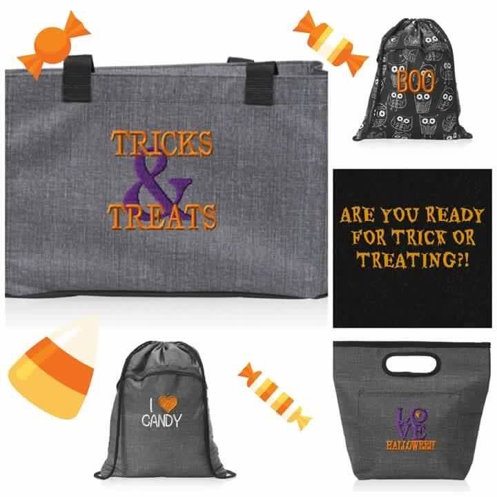 Get ready for Halloween! Thirty-One Trick or Treat bags www.mythirtyone.com/403645