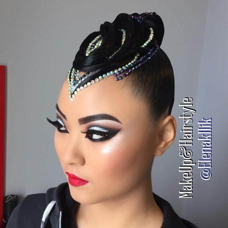 "272 Likes, 1 Comments - Елена Ликириченко (@elenakllik) on Instagram: ""MakeUp&Hairstyle by Stilist Elena Likirichenko  @elenakllik #muah #makeup #makeupfordance  #dance…"""