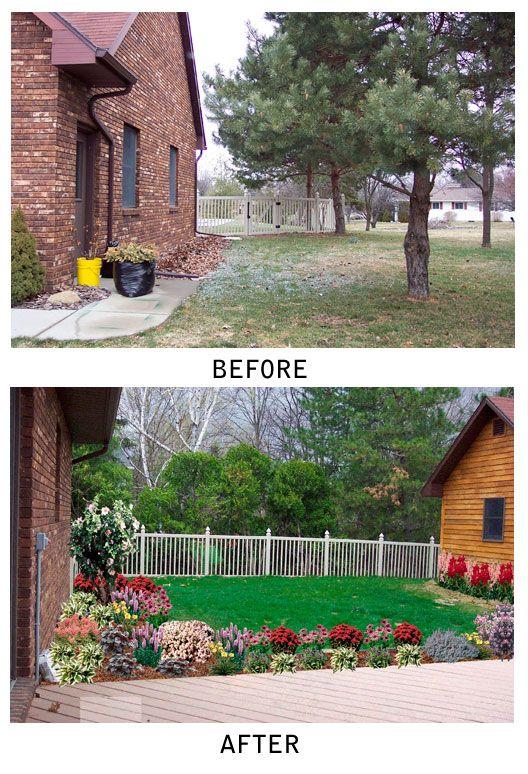 17 best landscaping  before  u0026 after images on pinterest