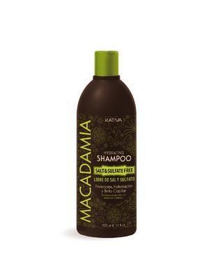 Интенсивно увлажняющий шампунь Kativa для нормальных и поврежденных волос MACADAMIA, 500мл