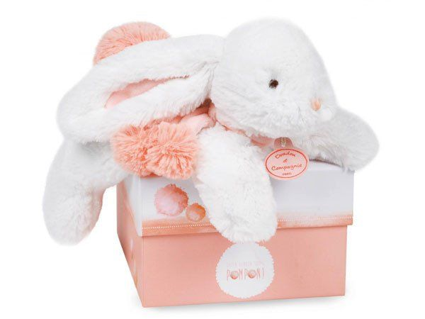 PomPom DouDou Coral - Soother - Baby Belle