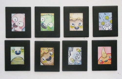 FRIDGE MAGNETS!!!!! $10 each. These are all original watercolour paintings by Justin Lee!! Visit our website www.argylefineart.com for more information the artist, and others that we represent :)