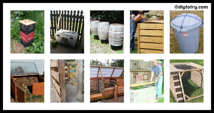 10 DIY Compost Bins Ideas