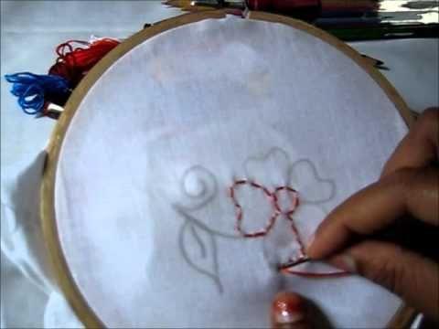Kanta Work Design - Hand Embroidery Tutorials