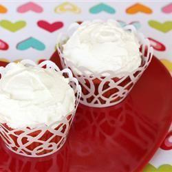 Cupcakes gemaakt van vriendschapscake