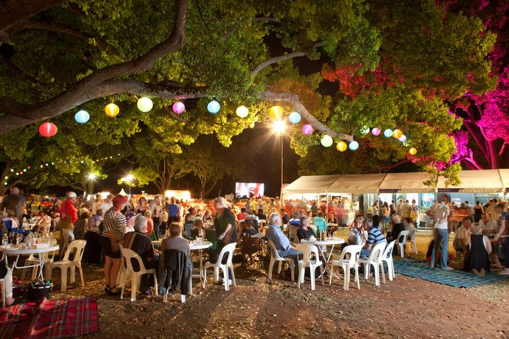 Ergon Energy Flower Food and Wine Festival 2012.