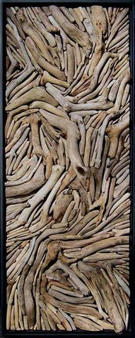 driftwood assemblage...