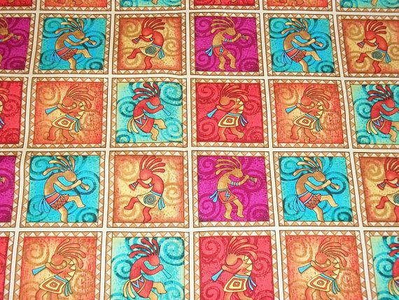 Southwest Fabric By The Yard Aztec Fabric Quilting Fabric