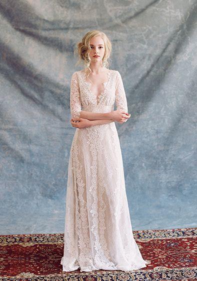 Claire Pettibone #Romantique \'Patchouli\' wedding dress | Bohemian Rhapsody Collection
