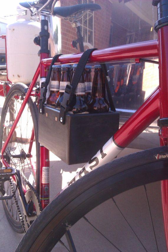 Six Pack Beer Bicycle Tote on Etsy