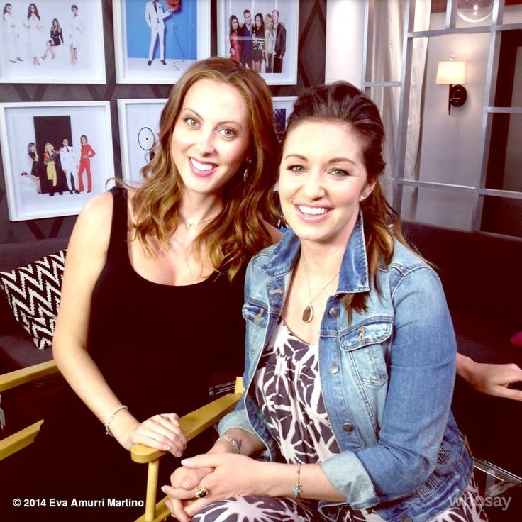Eva Amurri Martino and Bianca Kajlich
