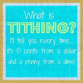 Blue Skies Ahead: Tithing Family Home Evening (The Parable of the Skittles)