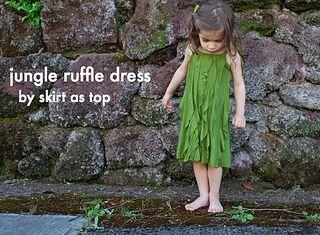 jungle ruffle dress title by skirt_as_top: Dresses Tutorials, Ruffle Dress, Skirts As Tops, Jungles Ruffles, Ruffles Dresses, Kids Clothing, Dresses Title, Kate Sewing, Ruffles 2012