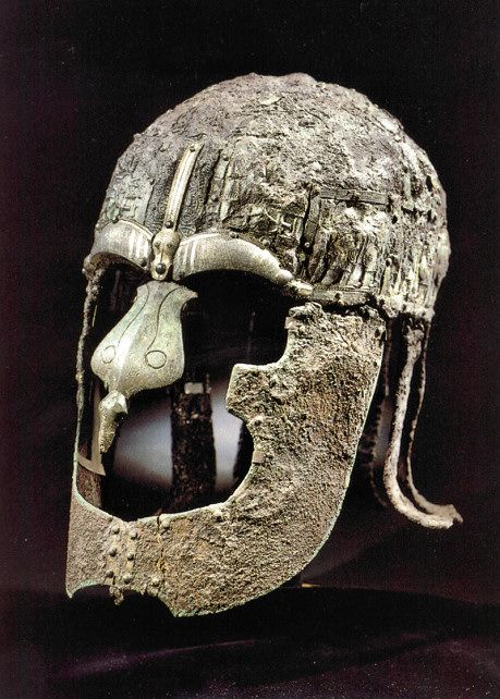 Helmet from Vendel Cemetery, Grave XIV