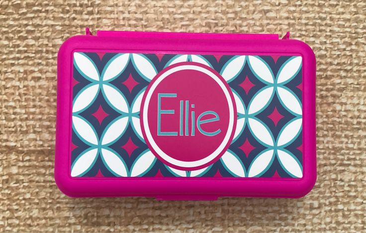A personal favorite from my Etsy shop https://www.etsy.com/listing/532877654/personalized-pencil-box-school-supply