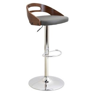 Shop For Cassis Mid Century Modern Walnut Wood Adjustable Barstool. Get Free  Shipping At Overstock · Furniture OutletOnline ...