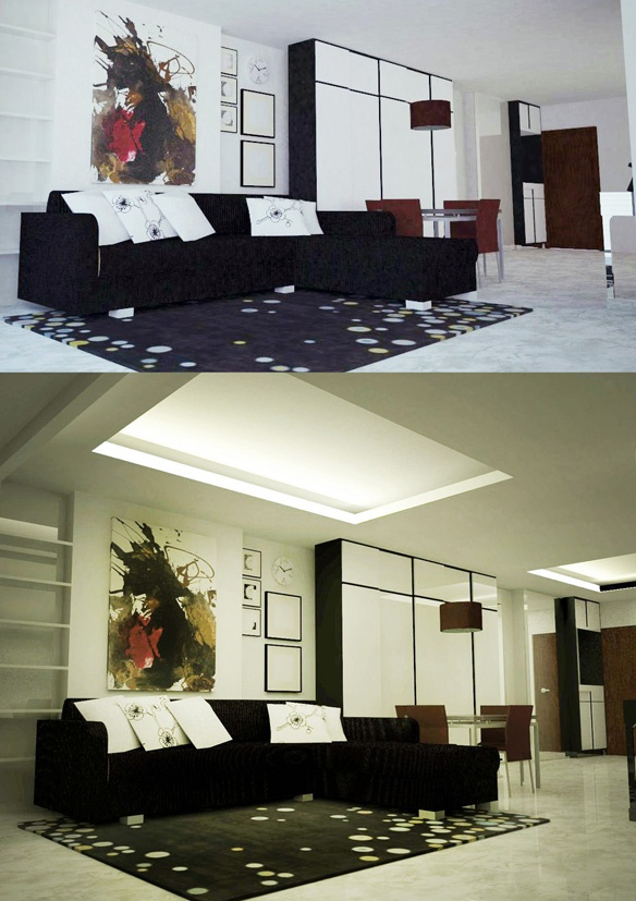 Residence-Living Room Project