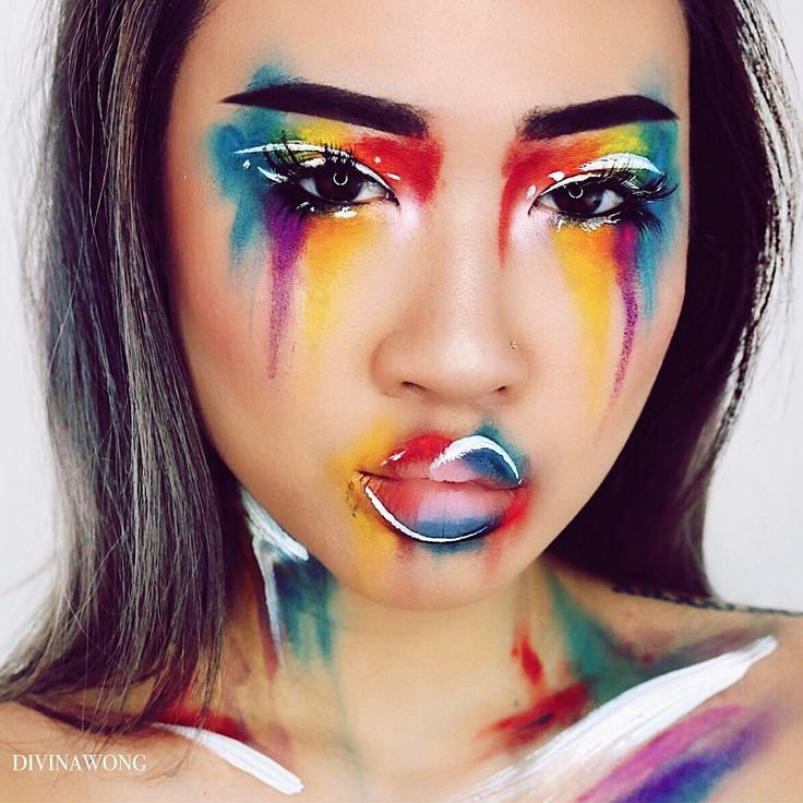 25+ Best Ideas About Uv Makeup On Pinterest | Black Light Makeup Uv Face Paint And Artistic Make Up