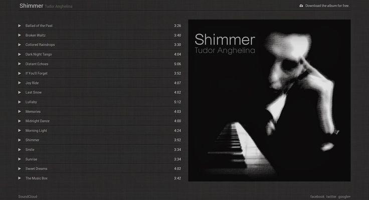 Free Music Album Blogger Template - HTML5 Audio, CSS3, JavaScript