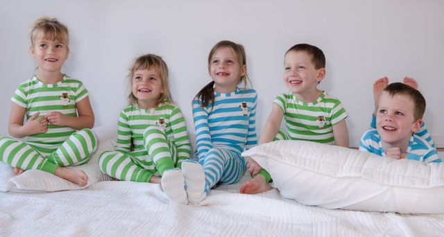 """Little sleeper keeper. Kids can't take off....prevents"""" brown parties"""" Favorite pajamas ever! We've been using them for a year."""