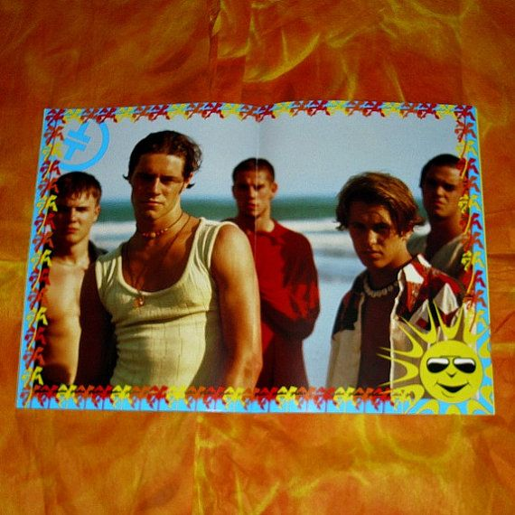 Take That Official Summer Of 1993 Tour Concert by WelshGoatVintage
