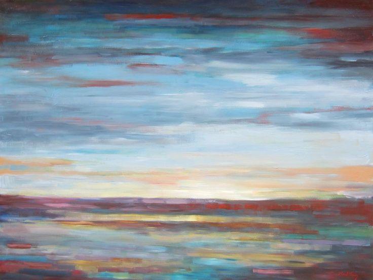 Summer blues par Micheal Foers, artiste présentement exposé aux Galeries Beauchamp. www.galeriebeauchamp.com