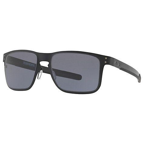 Buy Oakley OO4123 Holbrook Metal Square Sunglasses Online at johnlewis.com