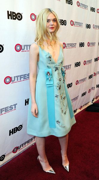Elle Fanning Photos: The Opening Night Gala of 'Tig' at the 2015 Outfest Los Angeles LGBT Film Festival - Red Carpet