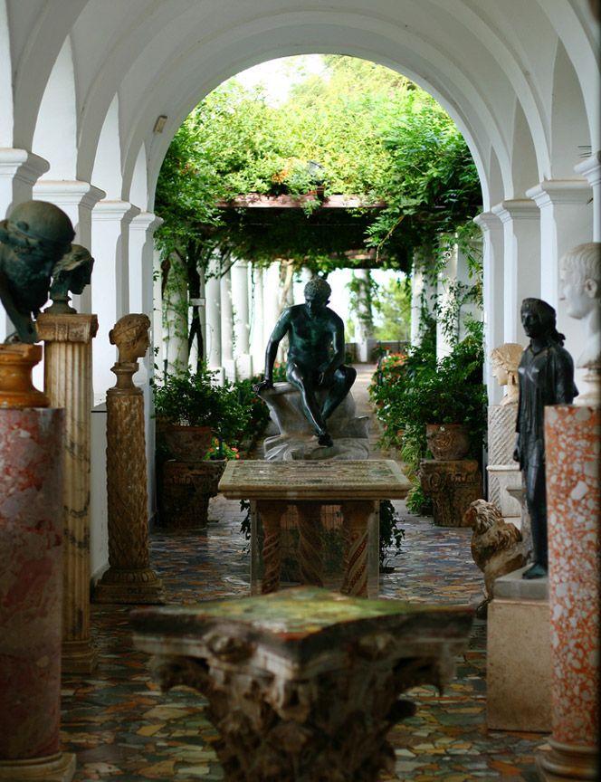 Villa San Michele, in Capri