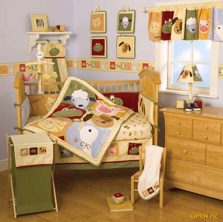 Текстильный дизайн детской комнаты