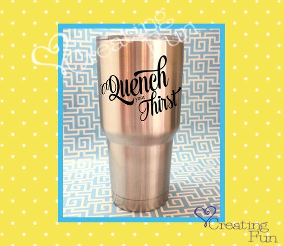 Best Vinyl Decals For Cups Mugs Tumblers Yeti Ozark And - Vinyl cup designs