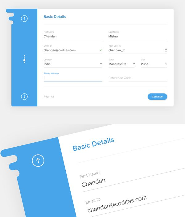 Best  Registration Form Ideas On   Form Design