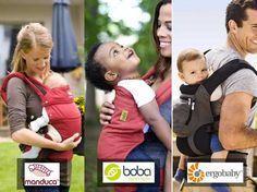 Ergobaby ou Manduca ou Boba : lequel choisir ? Pour quel age ? Quelles activités ? Voici notre comparatif des porte-bébé physiologique.