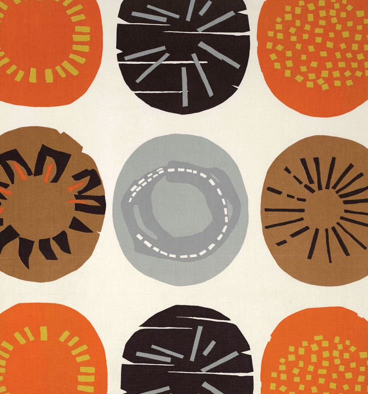 Apollo, (detail), late 1950s. Lucienne Day. Manufactured by Heal Fabrics.