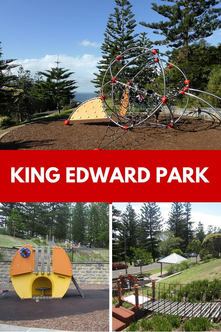 If you're after a park with great play equipment, ocean views, lots of shade and grassy areas, visit King Edward Park in Newcastle.