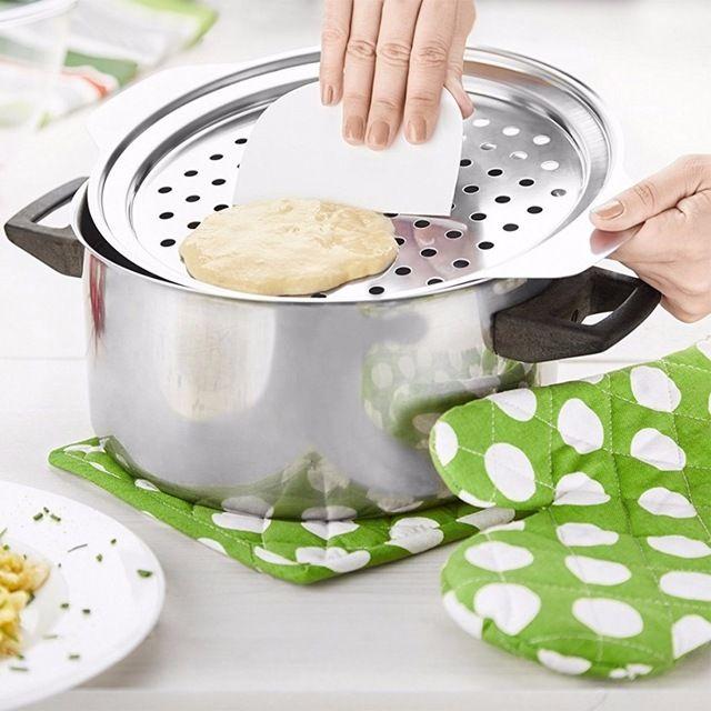 נירוסטה Spaetzle מכסה עם מגרד יצרנית כופתה אטריות ביצי גרמניה בית להכנת כלי בישול מטבח פסטה Accessoires