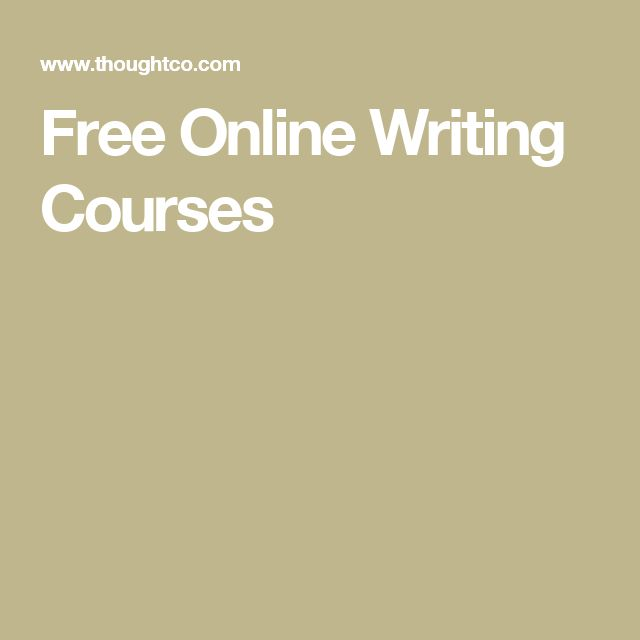 free online creative writing classes Brave writer online classes are uniquely designed with the busy  a specific  writing need so that you can take one or more over the course of a school year.