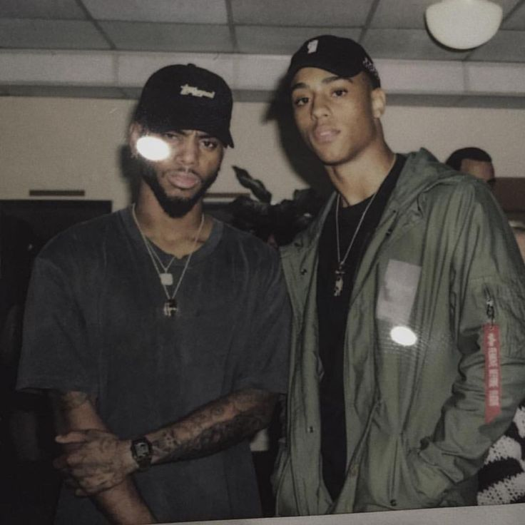 Keith Powers and Bryson Tiller Pinterest: @destinylove16