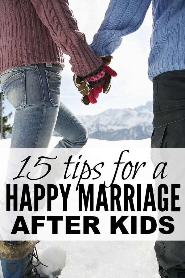 I'm in no way a marriage expert, but I love this collection of tips for a happy marriage after kids. Have you ever tried # 15??!