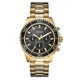 Guess Mens Watch Gold-Tone Sportwise Chronograph U0170G2 $135.99