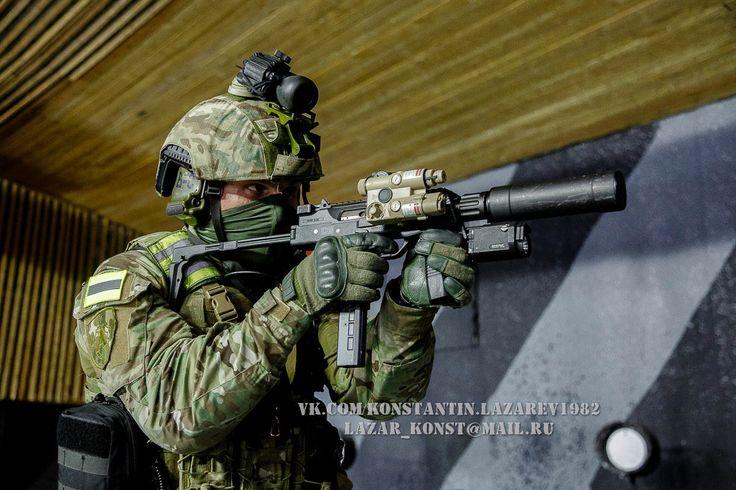 FSB Alfa Operator with Steyr TMP. Photo by Konstantin Lazarev.