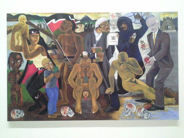 Robyn Kahukiwa - Resistance, Te Tohenga