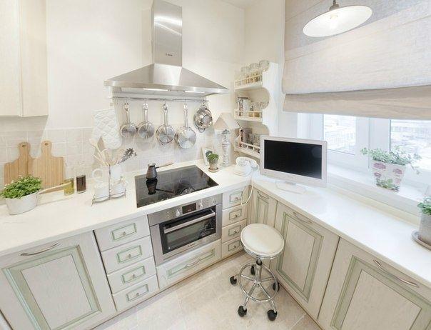 Дизайн интерьера кухни в белом цвете - Дизайн интерьеров   Идеи вашего дома   Lodgers