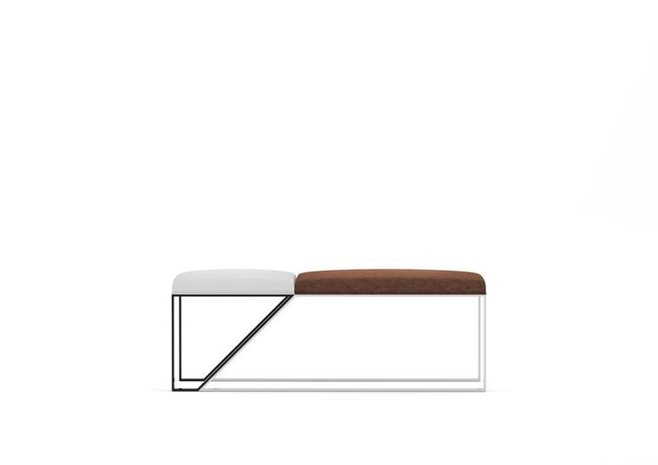 Bed Bench Stool  | Forza was inspired by the modern architecture and allows create a modern and luxurious ambiance for the several rooms of the house. view details on www.treniq.com