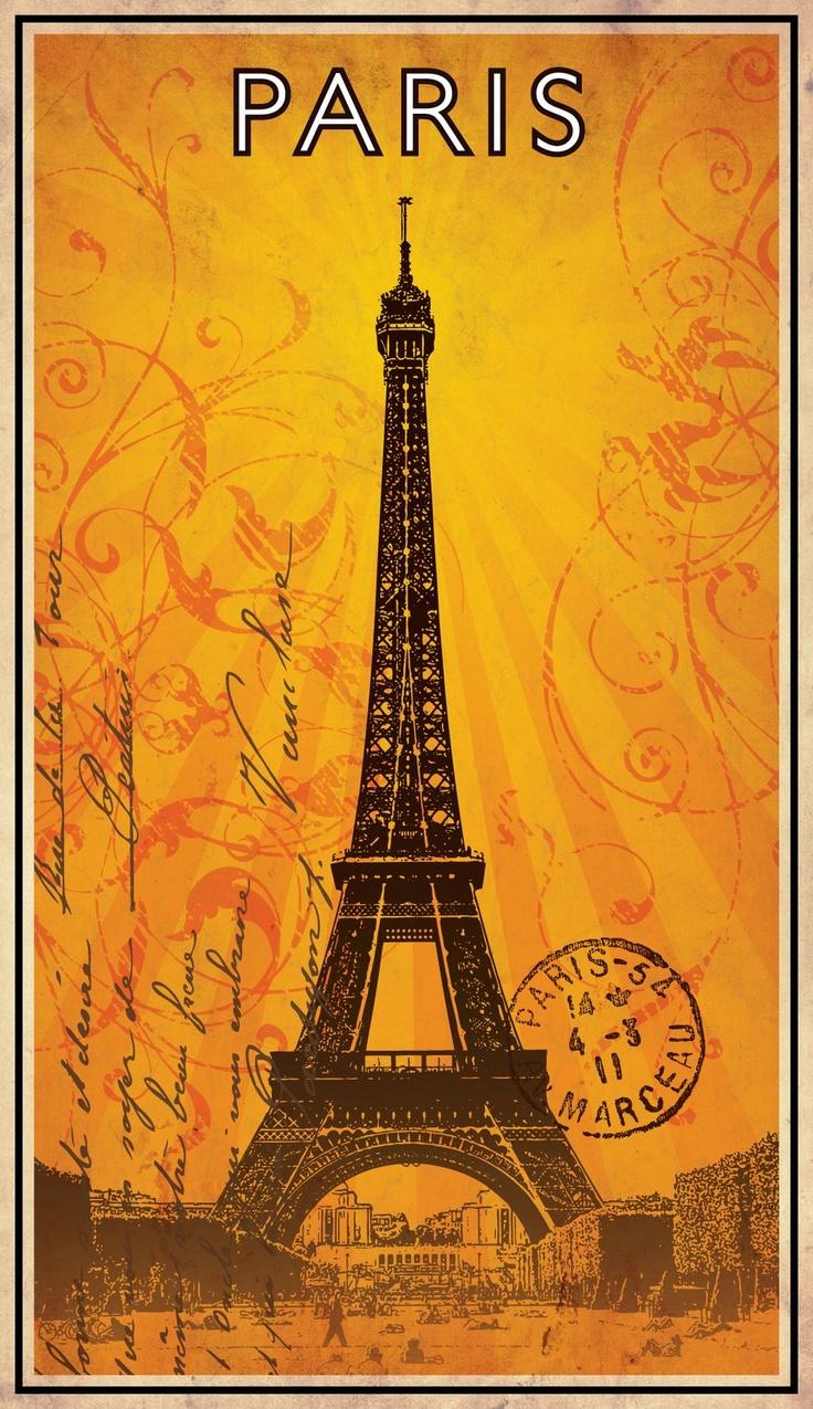 206 best Paris Art #2 images on Pinterest   Paris france, Eiffel ...