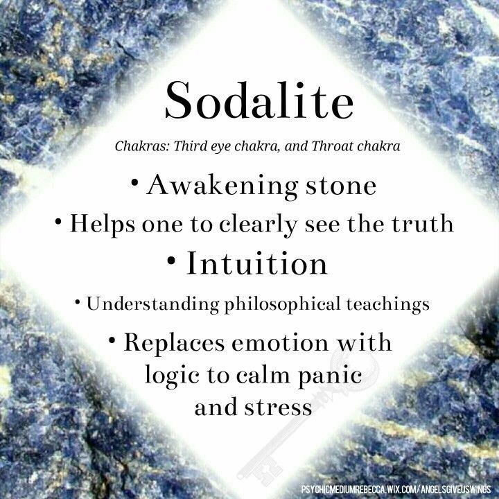 Sodalite crystal meaning