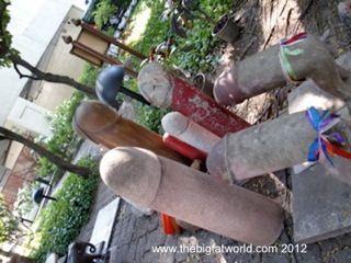 Phallic Symbols - Fertility Shrine Bangkok | The Travel Tart Blog